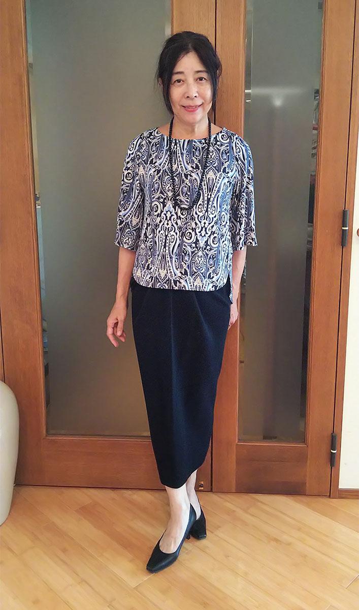 ダナ・キャランのロングスカート