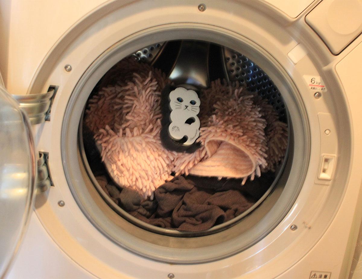 洗濯物と一緒に入れる
