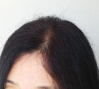 2018年6月の髪
