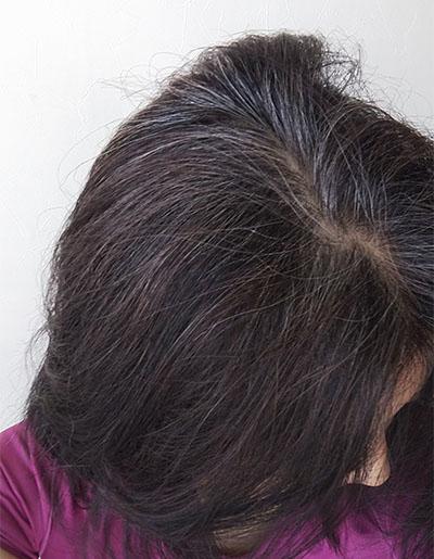 2019年10月1日の髪