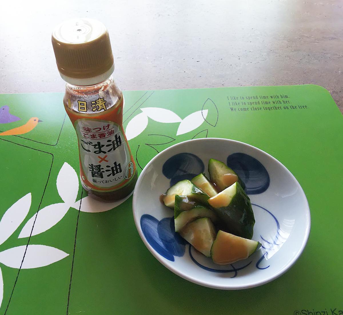 日清味つけごま香油(ごま油×醤油)