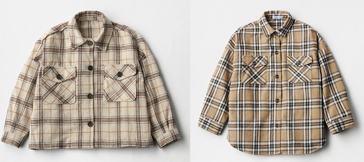 しまむらのシャツジャケット