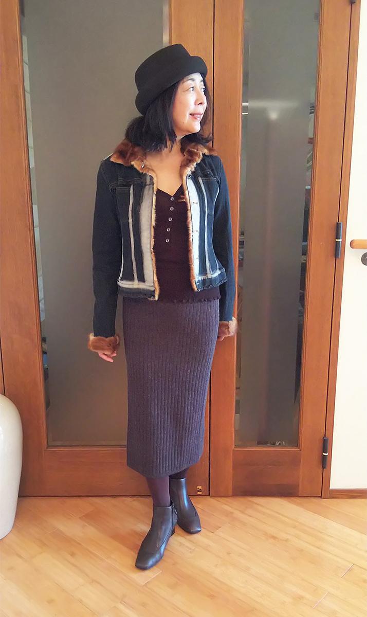 パオラフラーニのデニムジャケット