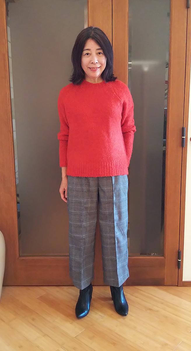 イタリア糸・アルパカ混セーター