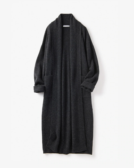 ボイルウール・羽織りコート