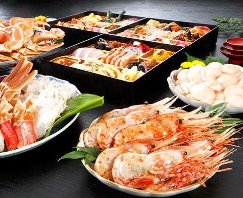 北海道海産 海鮮 特盛膳-とくもりぜん-