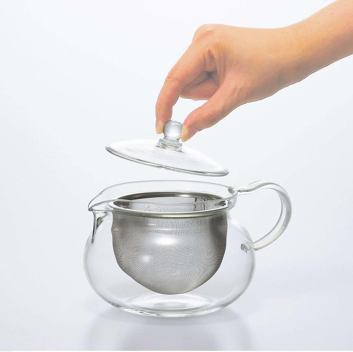HARIO (ハリオ) 茶茶 急須 丸 700ml CHJMN-70T