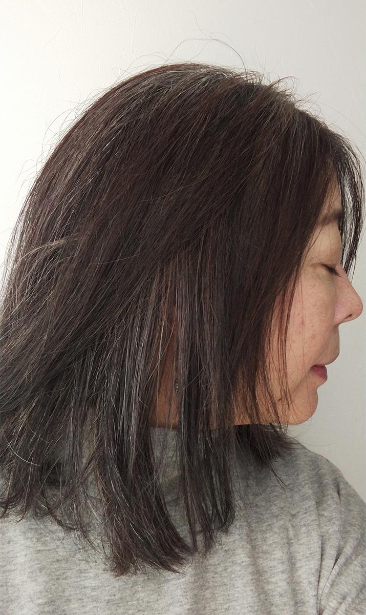 KAMIKAで洗っている髪