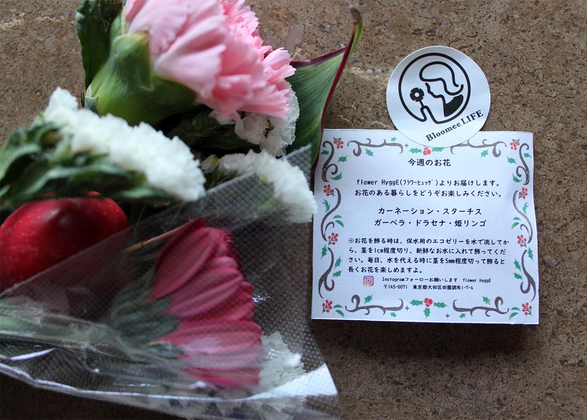 お花の種類とメッセージ