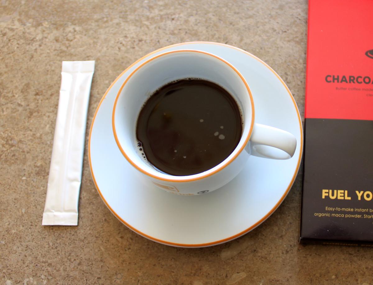 ローカーボ チャコールバターコーヒー