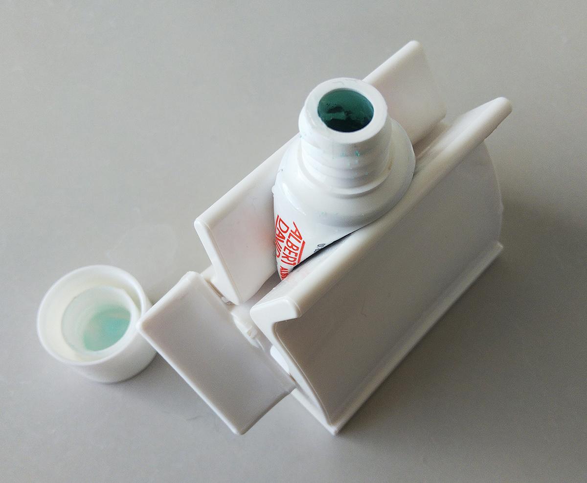 チューブ搾り器
