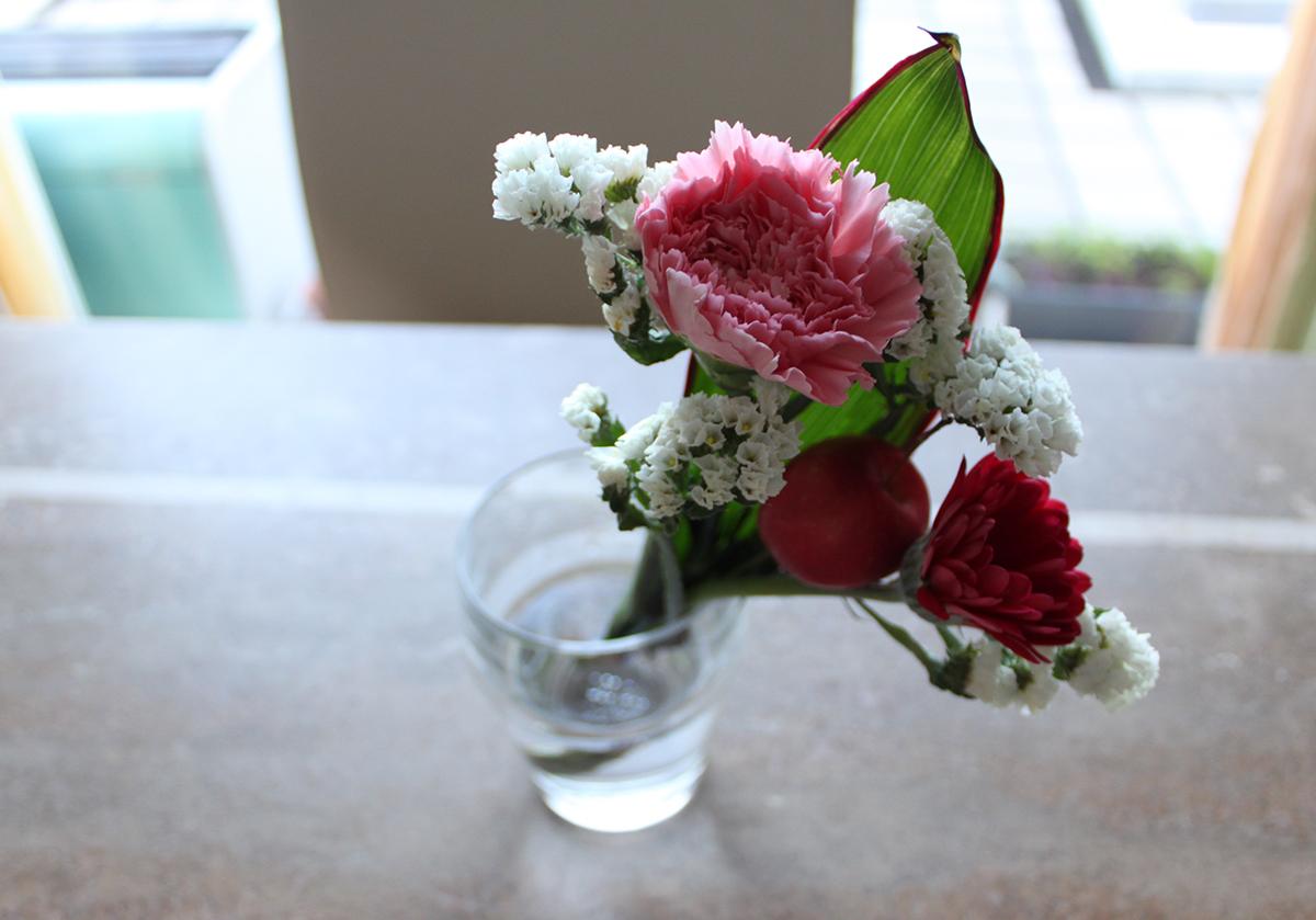800円の花束