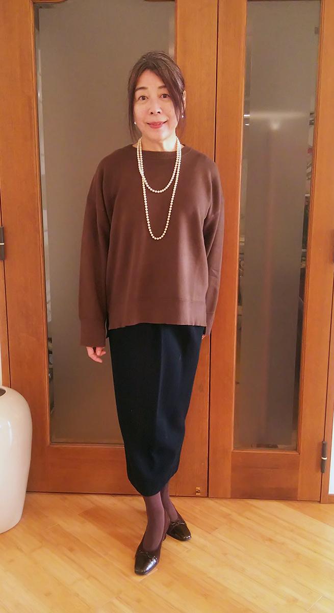 ダナキャランのタイトスカート