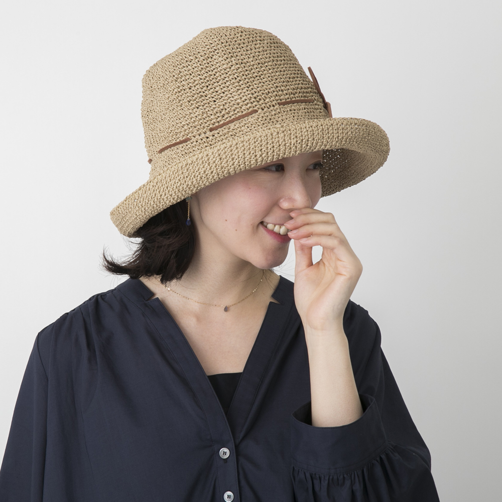 SASAWASHIの手編み帽子