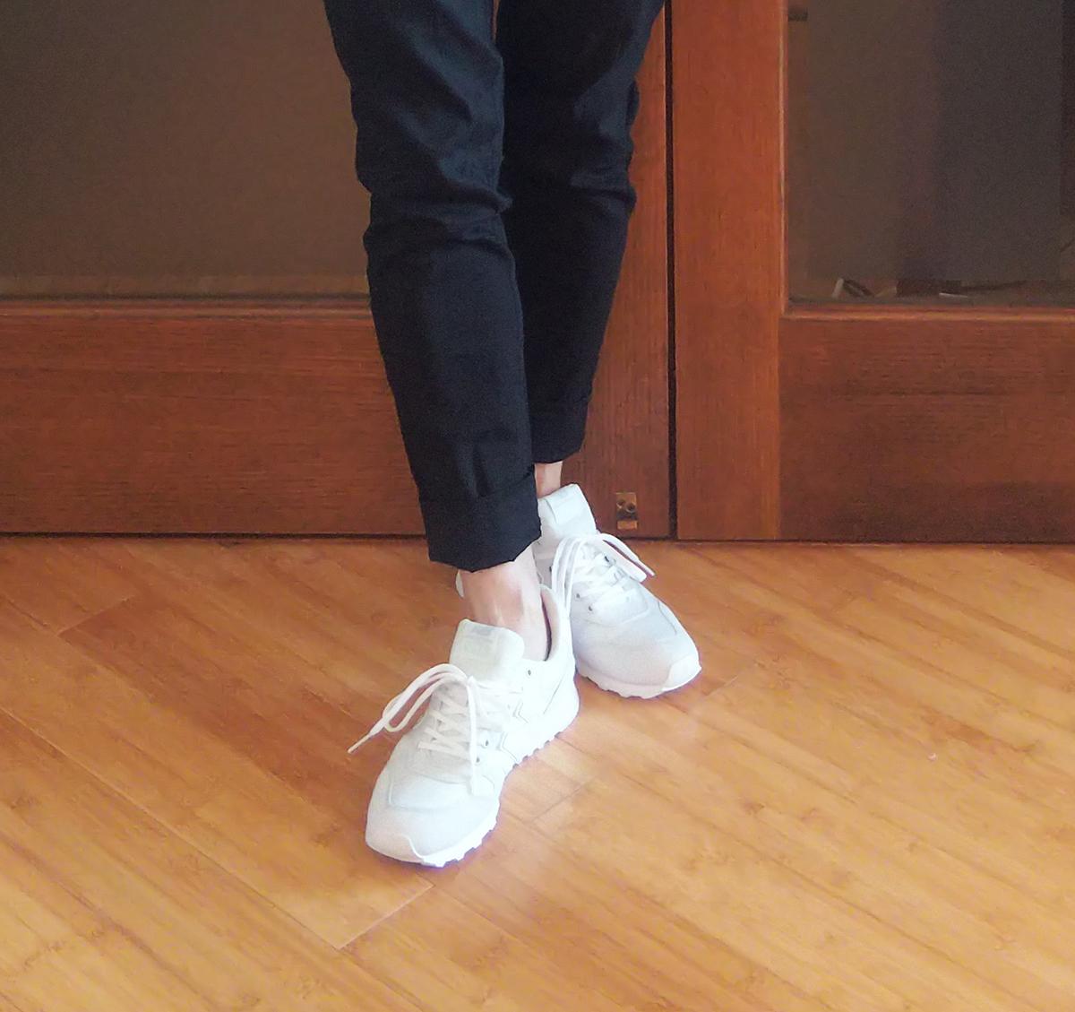 靴下は履かない