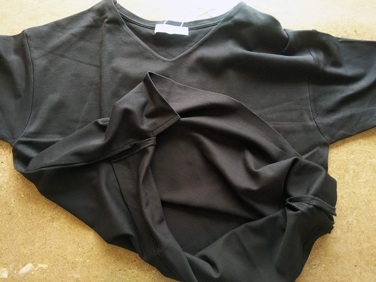 裾のライン