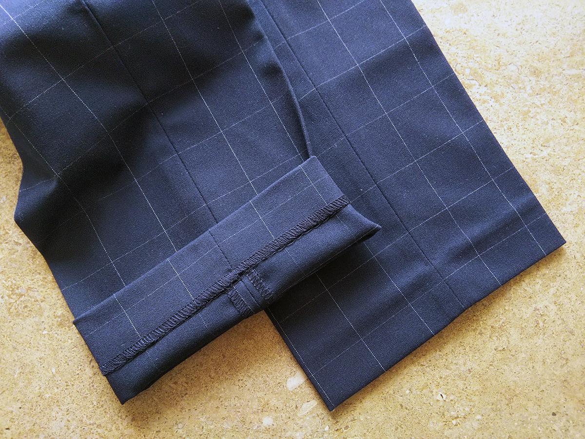 EZYアンクルパンツ(裾)