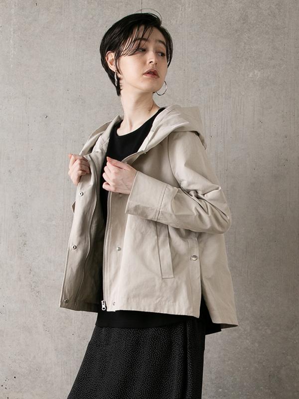 グログランサイドスリットジャケット