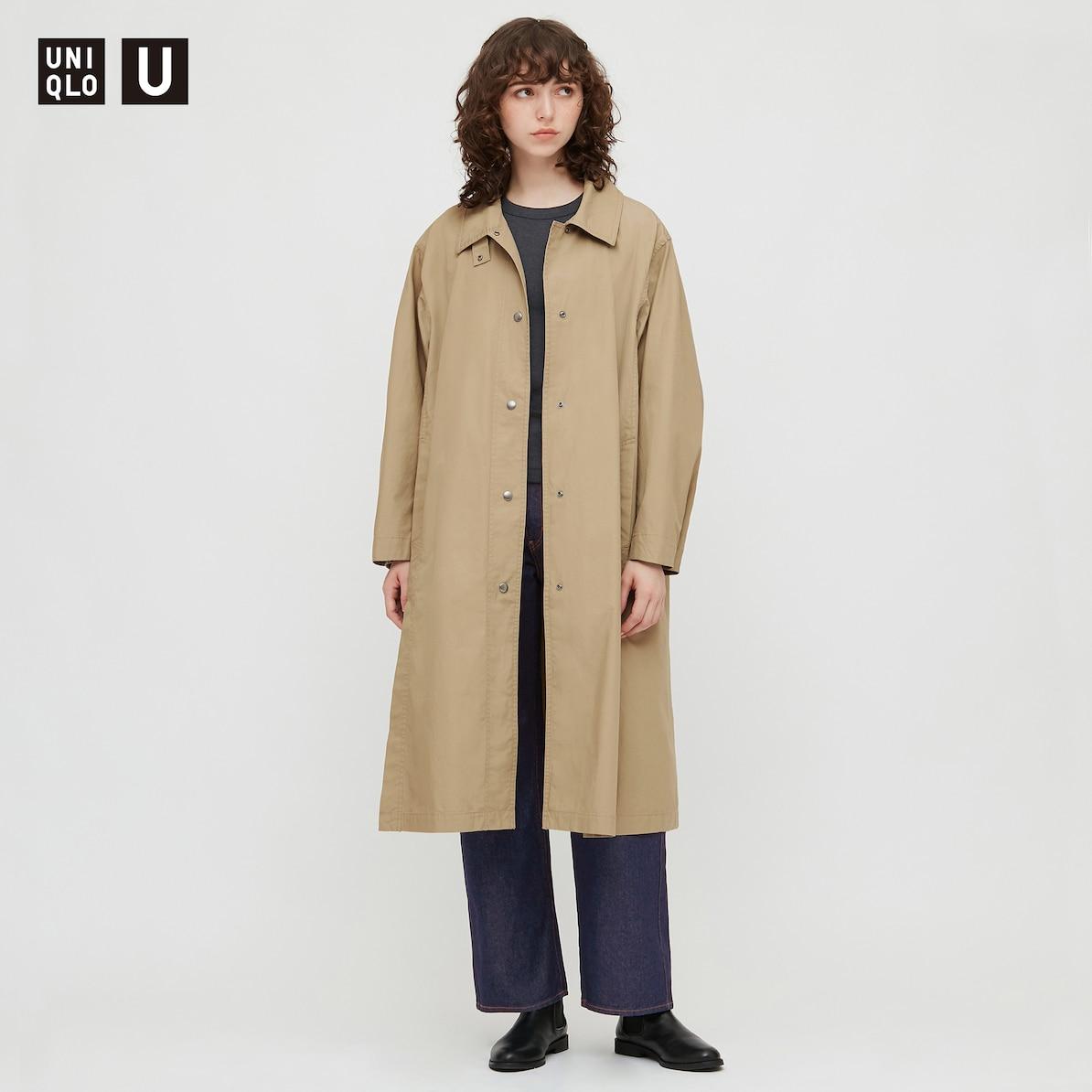 ユニクロ「ライトロングコート」7,990円