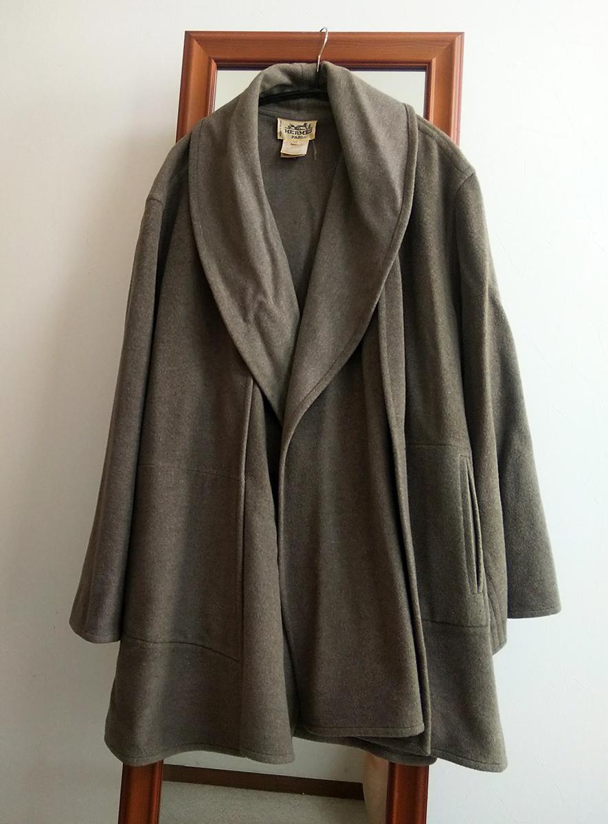 エルメスのハーフコート