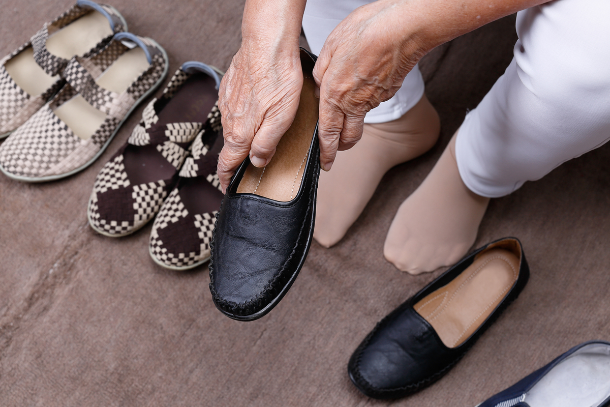 高齢者向けの靴