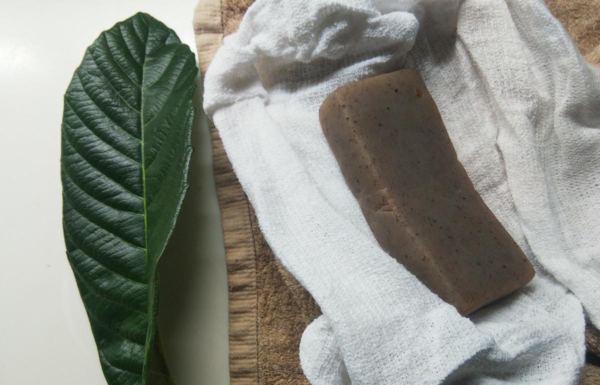 枇杷の葉コンニャク温湿布