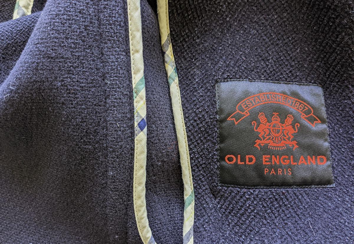 OLD ENGLANDのピーコート