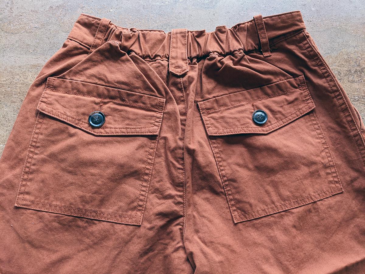 後のポケット
