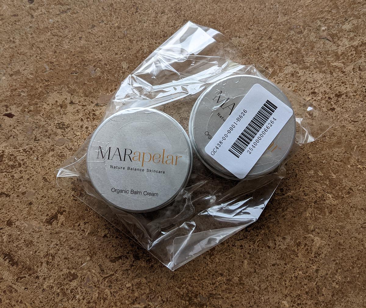 MAR apelar/オーガニックバームクリーム お得な2個セット