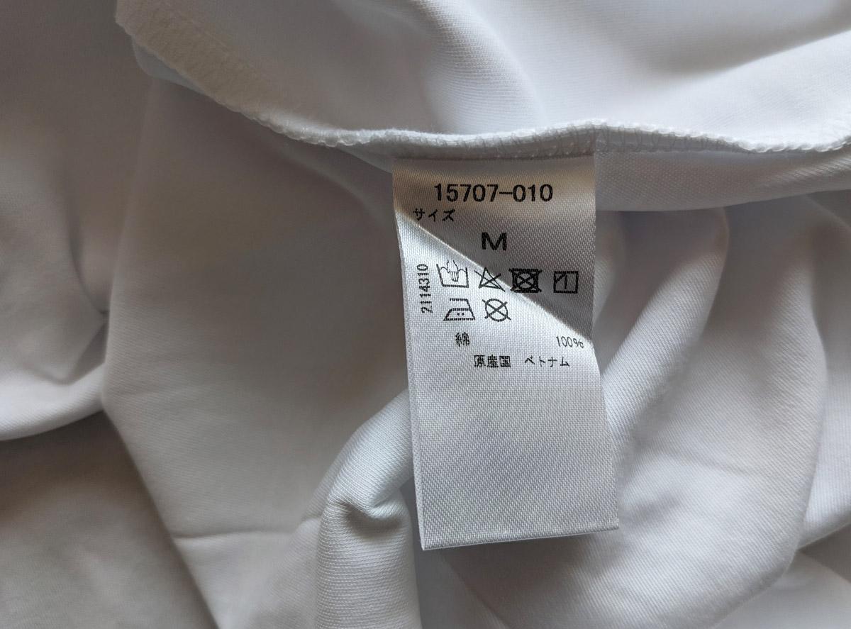 綿100%のタグ