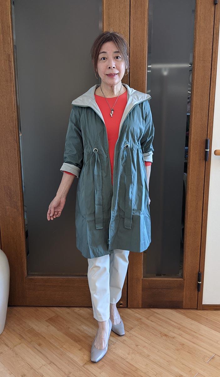 ドゥクラッセTシャツ のクルーネック7分袖