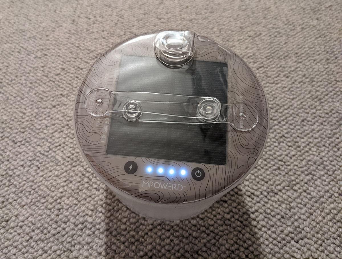 電池残量確認