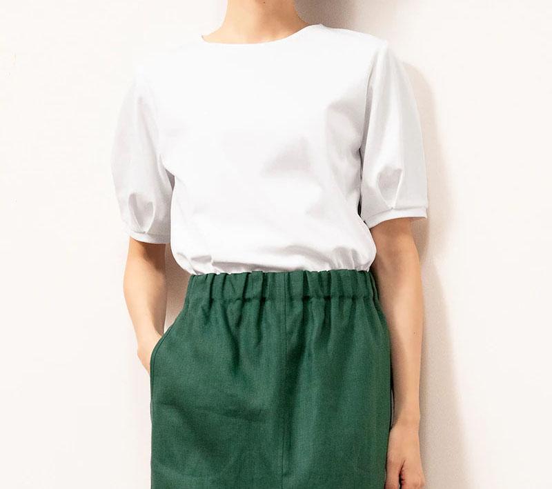 ドゥクラッセTシャツ・パフスリーブ半袖