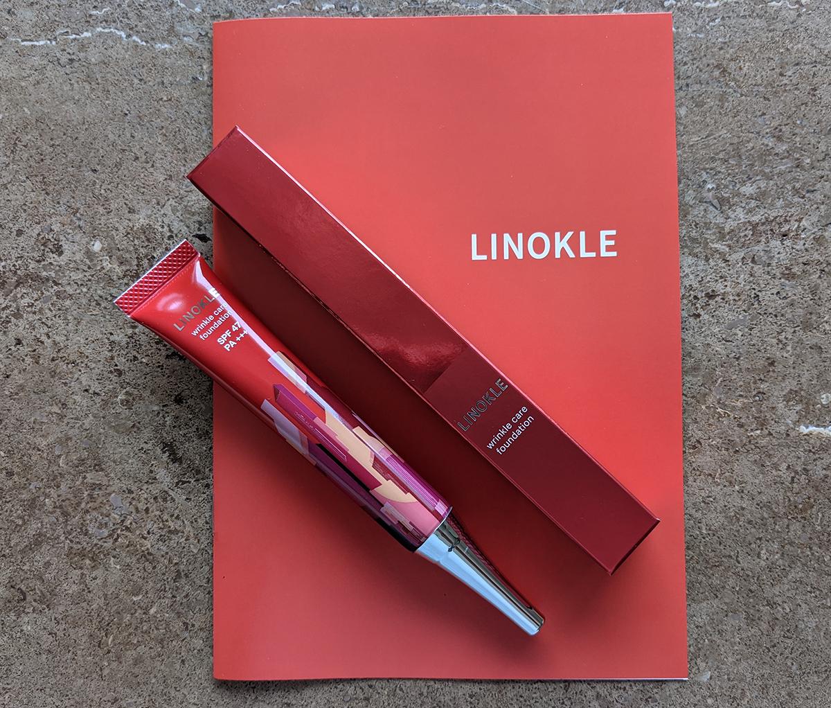 リンクルケアファンデーション】 LINOKLE(リノクル)