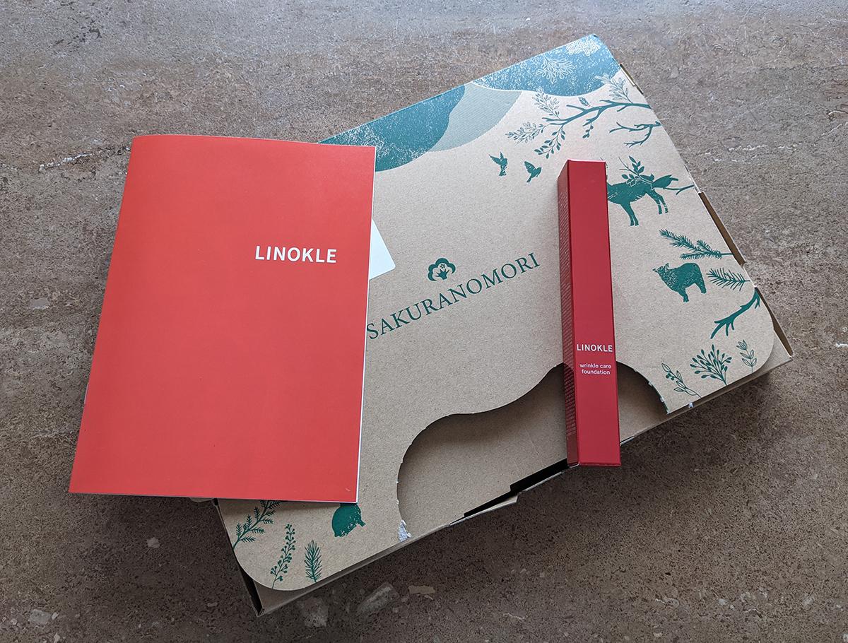 LINOKLE(リノクル)の箱