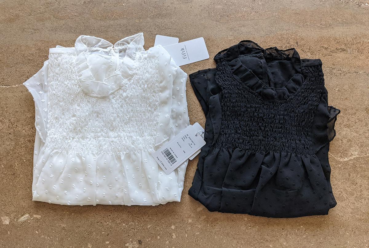 ホワイトとブラック