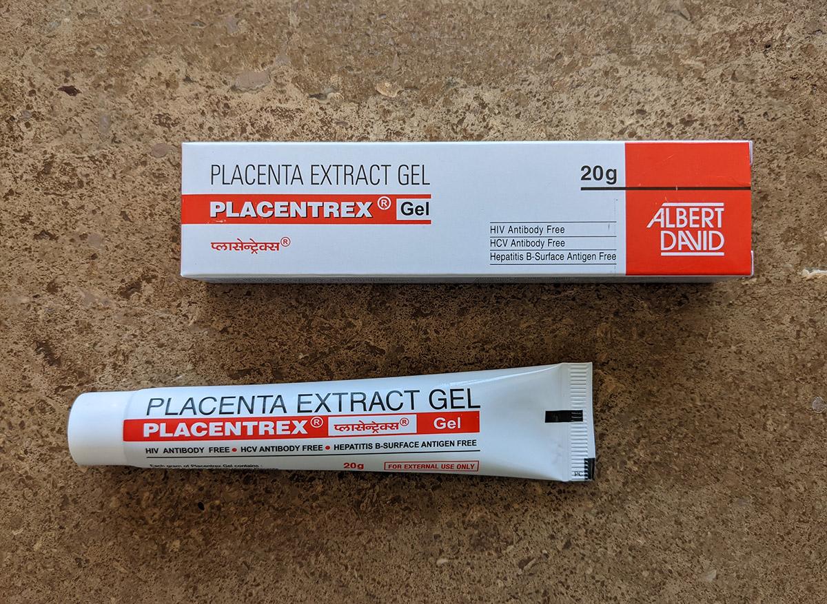 ヒトプラセンタジェル(Placentrex Gel)