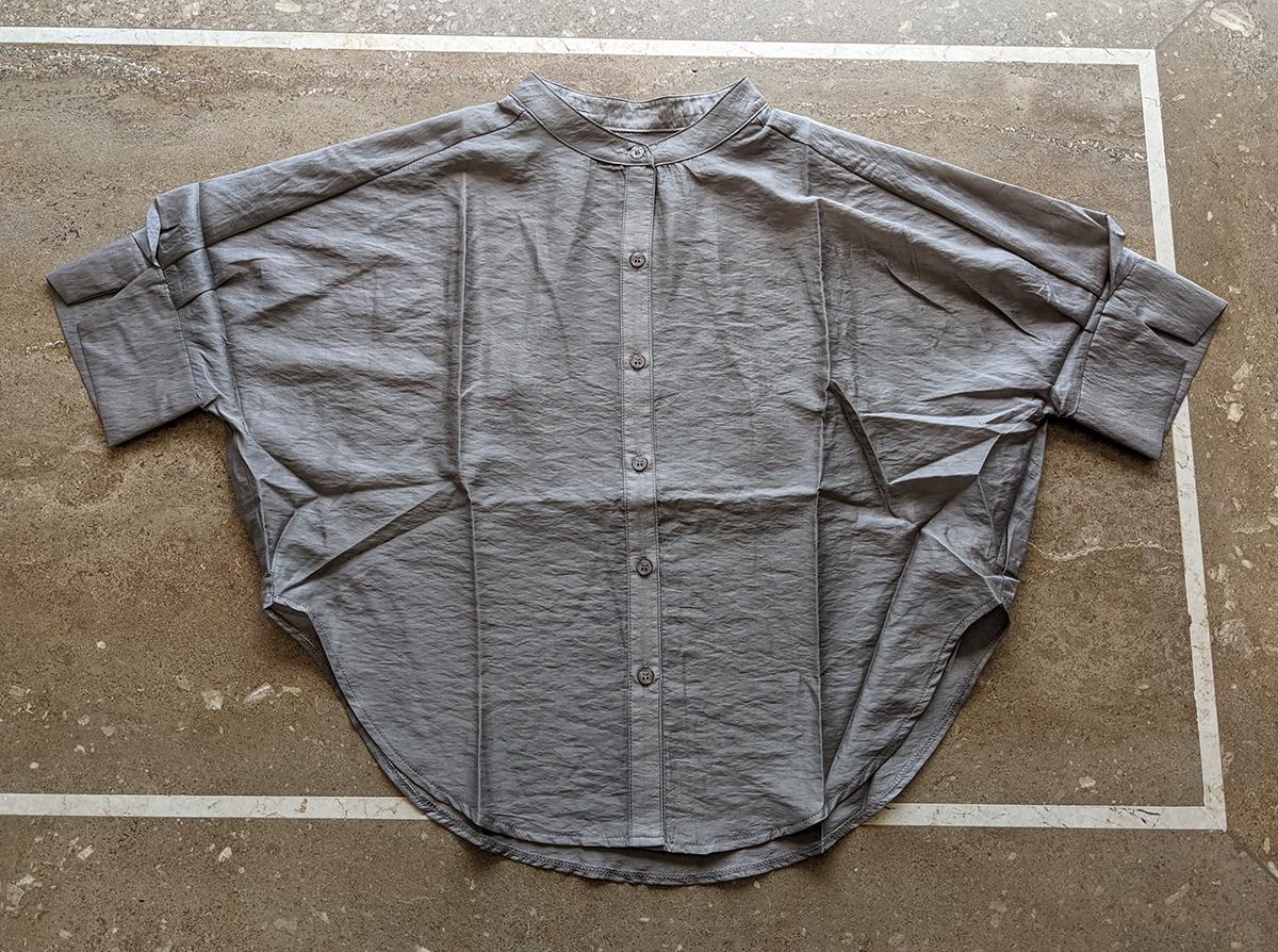 シアーショートシャツ