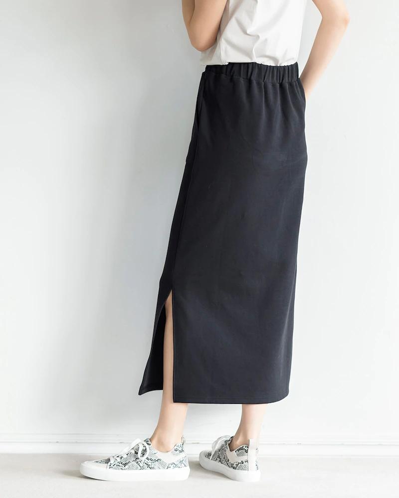 接結ストレッチ・イージータイトスカート
