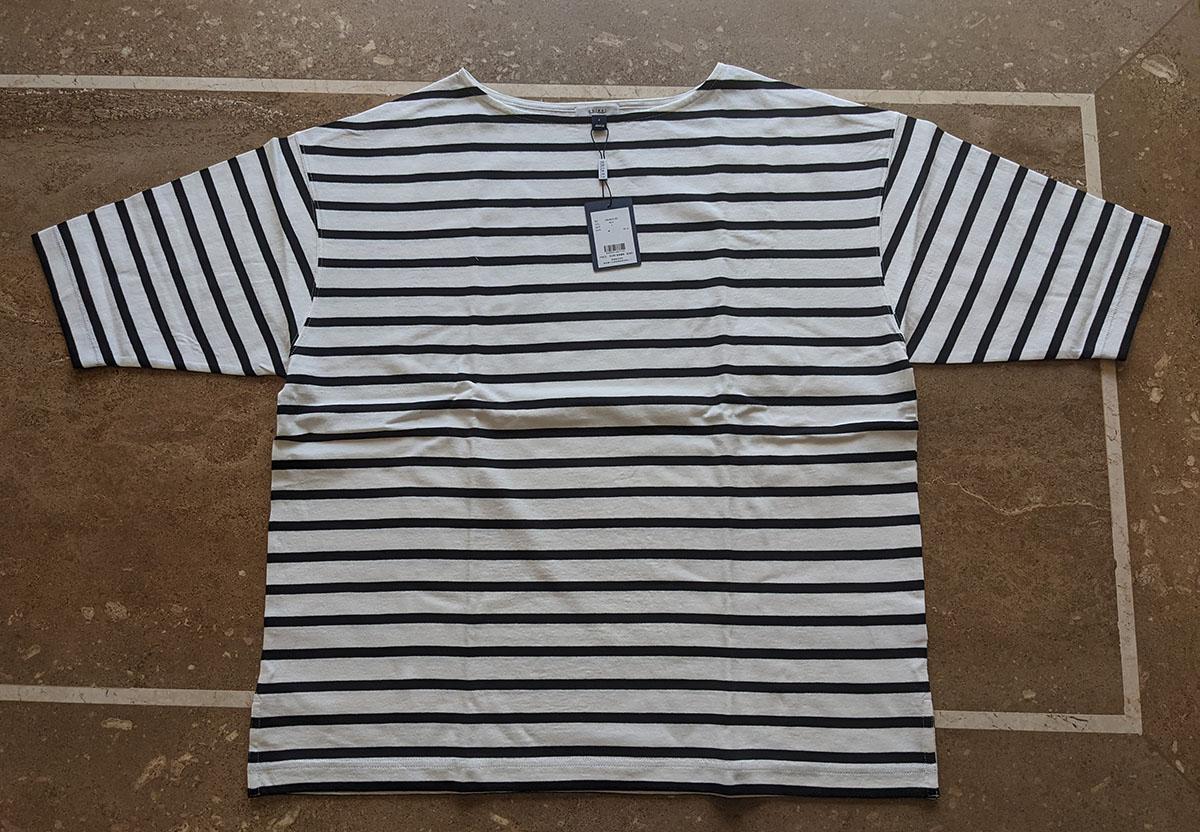 オーガニックボーダーTシャツ