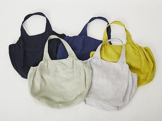 LINEN & BASIC/リネンのバルーンバッグ