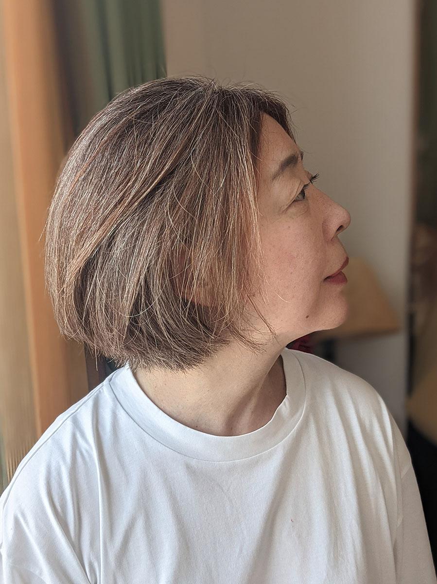 2021年6月末の髪