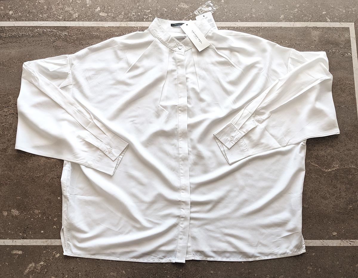 シワを伸ばしたシャツ