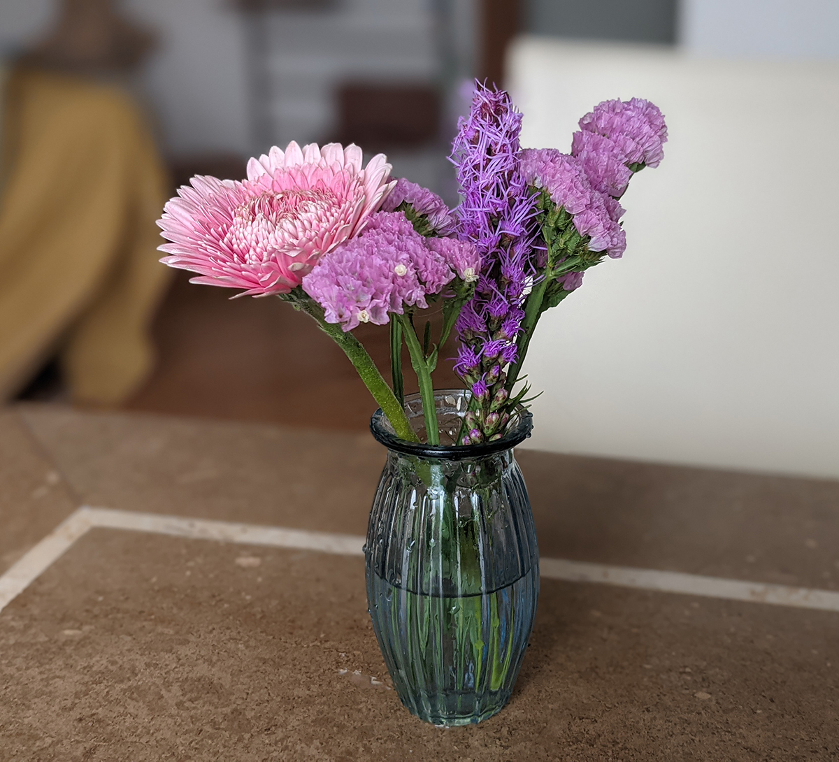 ブルーミー体験プランの花
