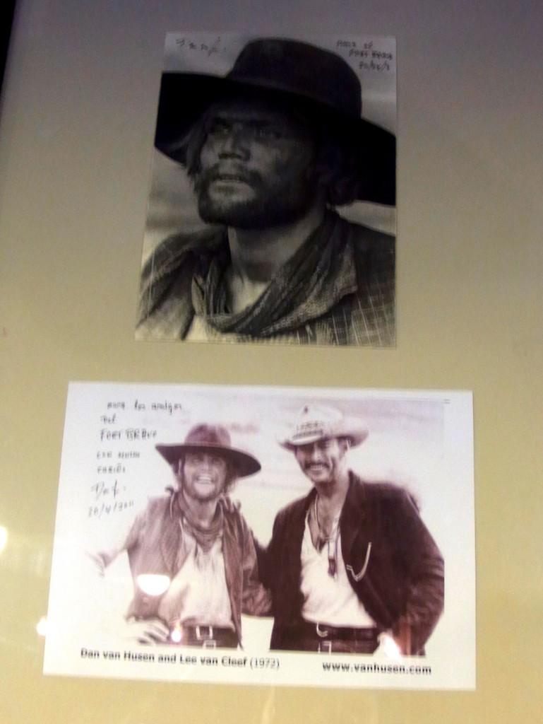 ダン・ヴァン・フッセン氏の写真とサイン