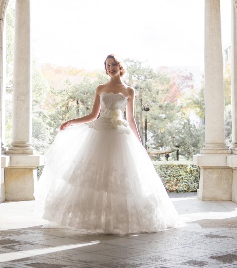 ウェディングドレスの人気ブランド5選 で使用する画像 RSクチュール