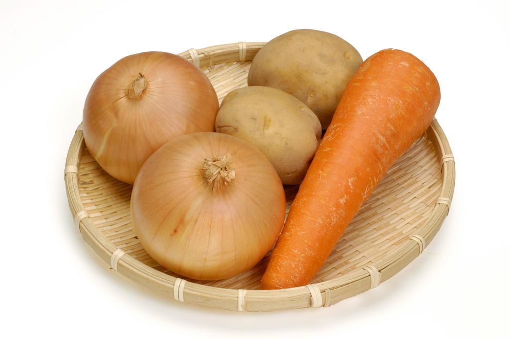 Картинка моркови и лука