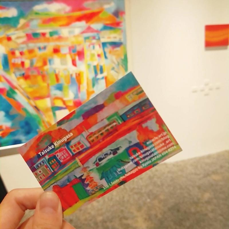 アートアクアリウムと同時に展示されているアート作品