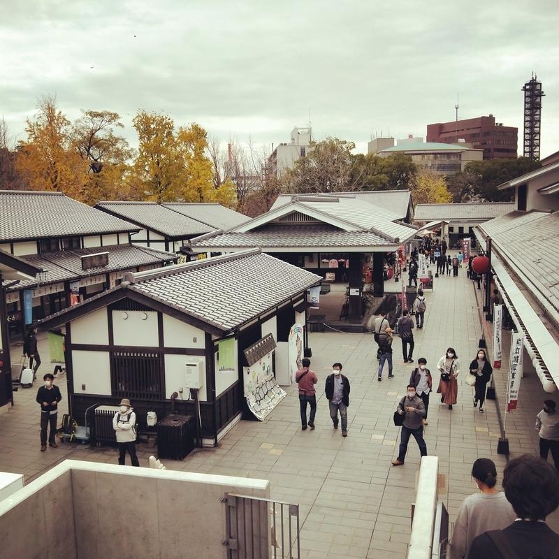 熊本城のチケット売り場
