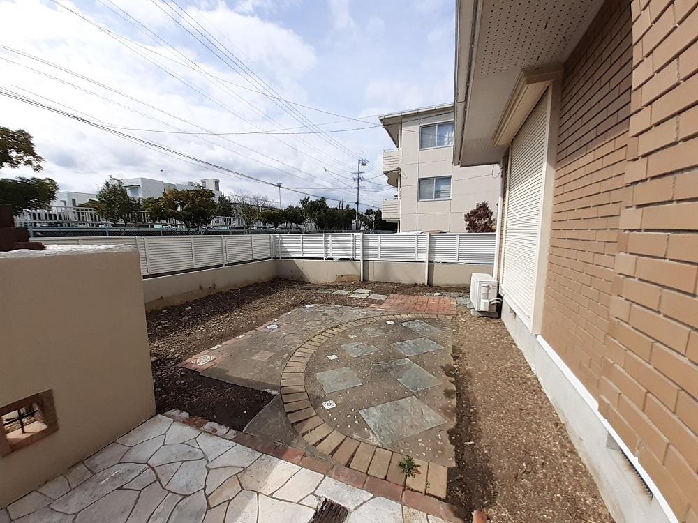 大きなお庭スペースで素敵なガーデンライフを楽しめます